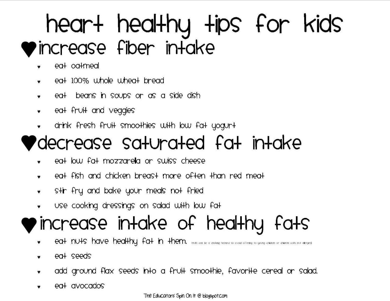 Little Hands That Cook With Books Heart Healthy Foods