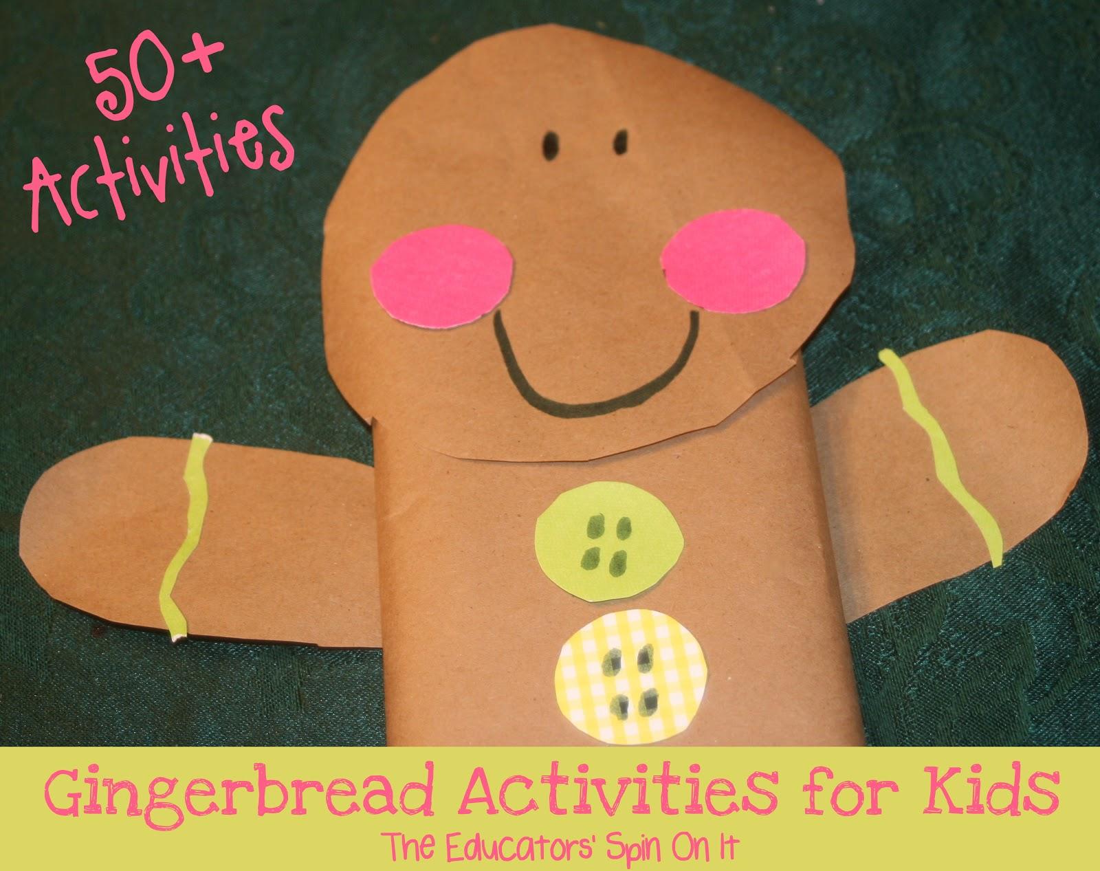 50 Gingerbread Activities For Kids