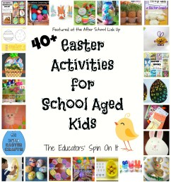 40 Easter Activities for Kids - The Educators' Spin On It [ 1600 x 1484 Pixel ]