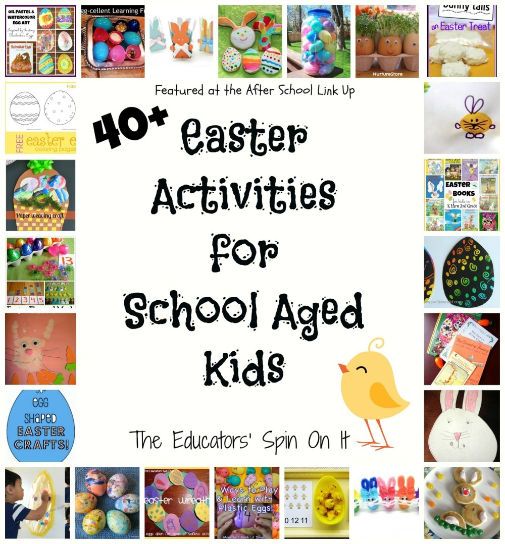 medium resolution of 40 Easter Activities for Kids - The Educators' Spin On It