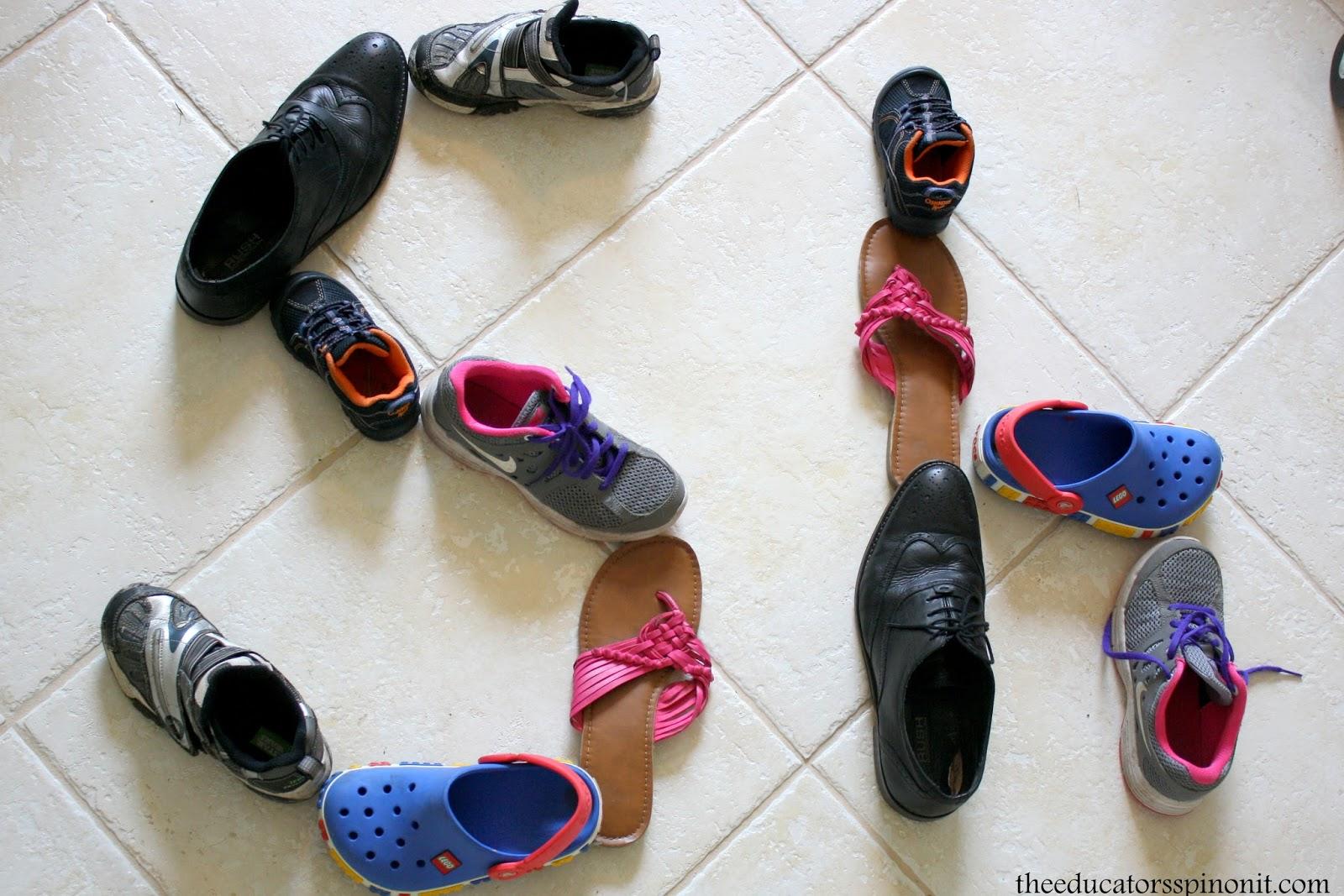 Shoe Activities For Preschool Learning