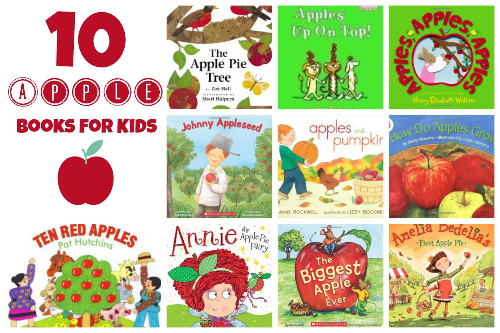 Apple Theme Preschool Activities For Math Reading Amp More
