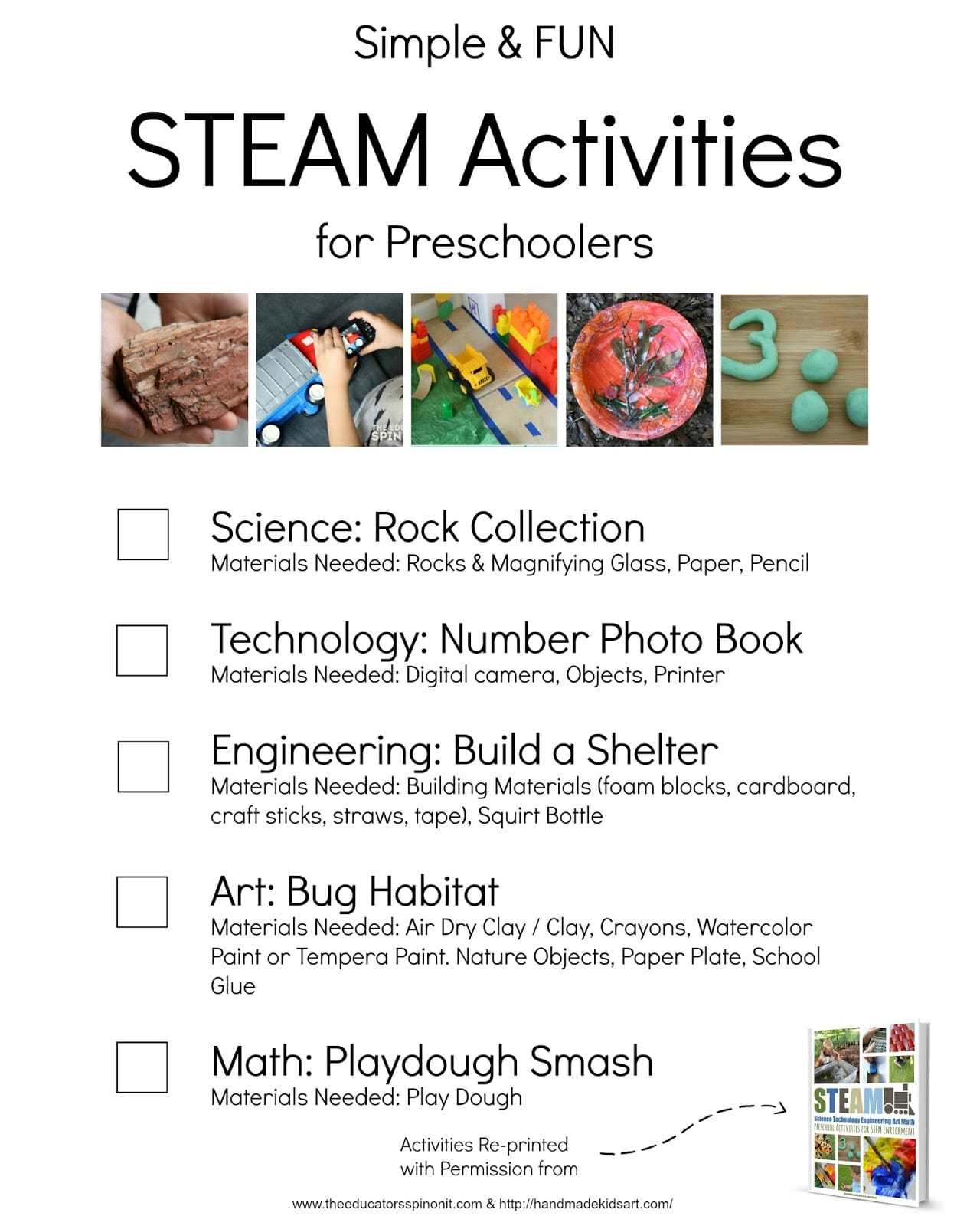 Simple And FUN STEAM Activities For Preschoolers The