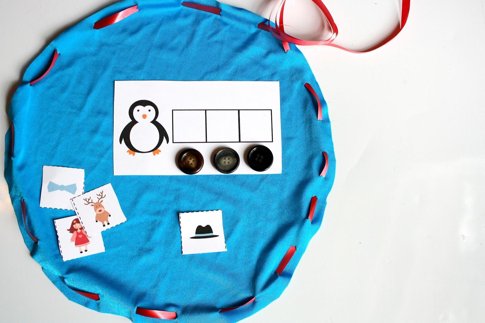 Christmas Activities For Kids Phonemic Awareness Busy Bag