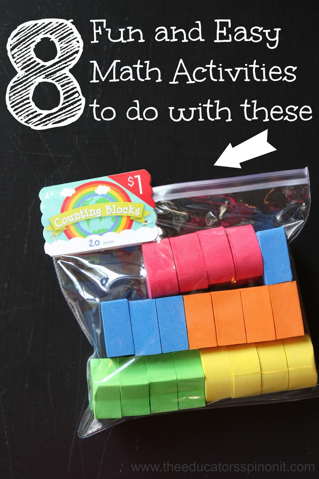 8 Easy Math Activities With Counting Blocks