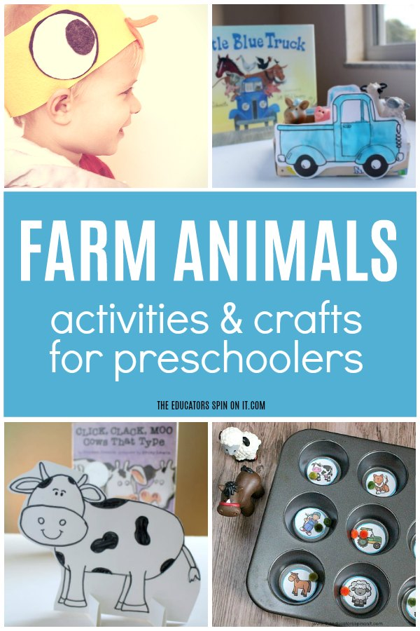 Follow easy craft tutorials, find free printables and coloring pages, and get advice on basic crafting techniques to make fun kids' crafts with the family. 10 Adorable Farm Animals Themed Activities For Preschoolers