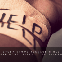 Study shows teenage girls far more likely to self-harm