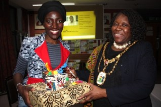 with Harrow Cllr Nana Asante