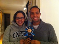 my couchsurfers from Mexico give me a gift from Mexico!