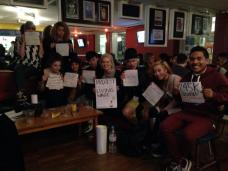 Living Wage for cleaners at UAL! Hannah Roberts pic