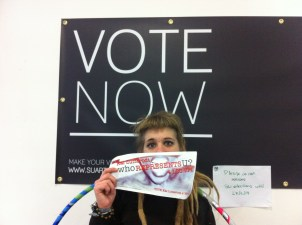 And Anita supported my campaign - REPRESENTATION and DIVERSITY at LCC!