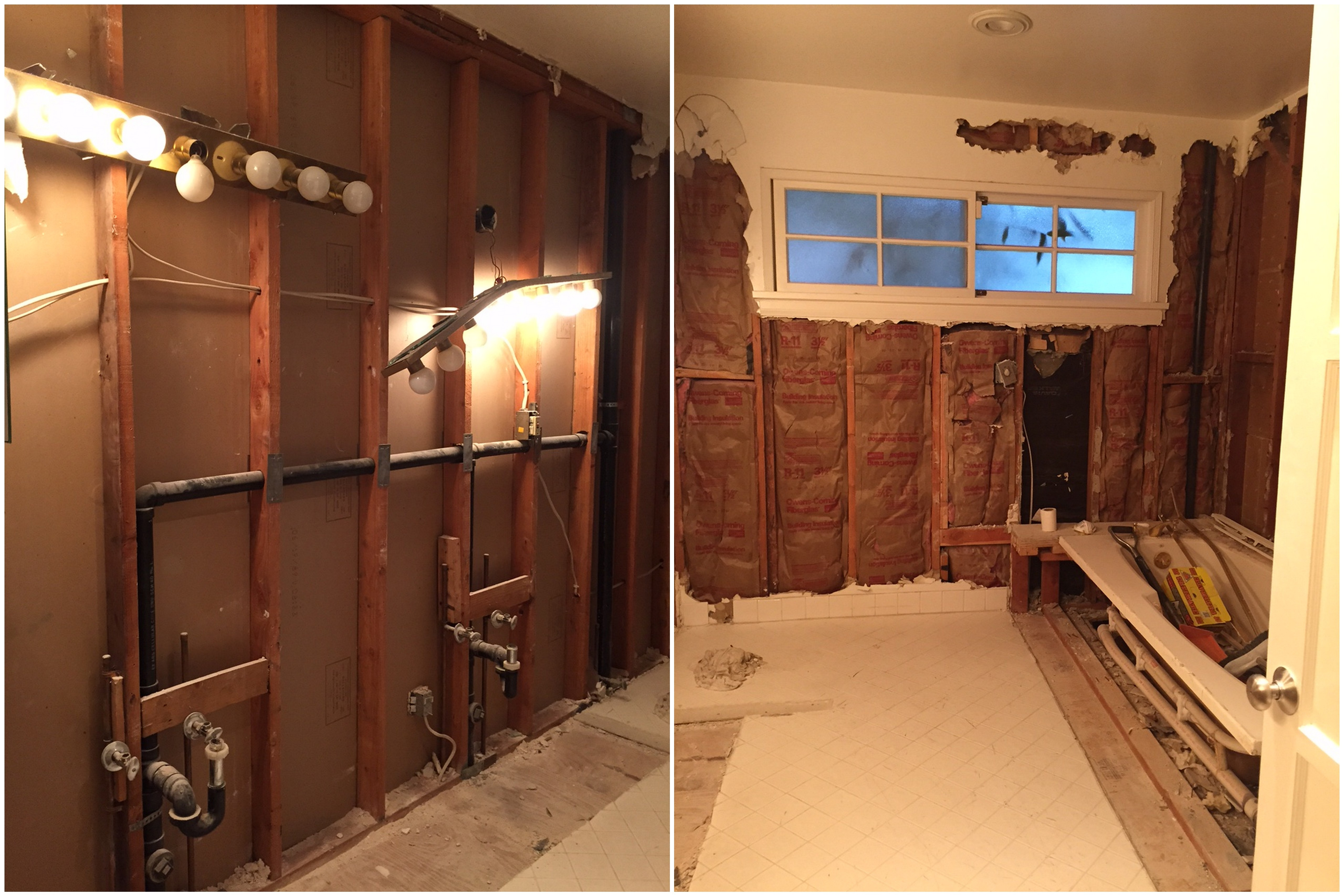 Master Bathroom Renovation  Before  After  The