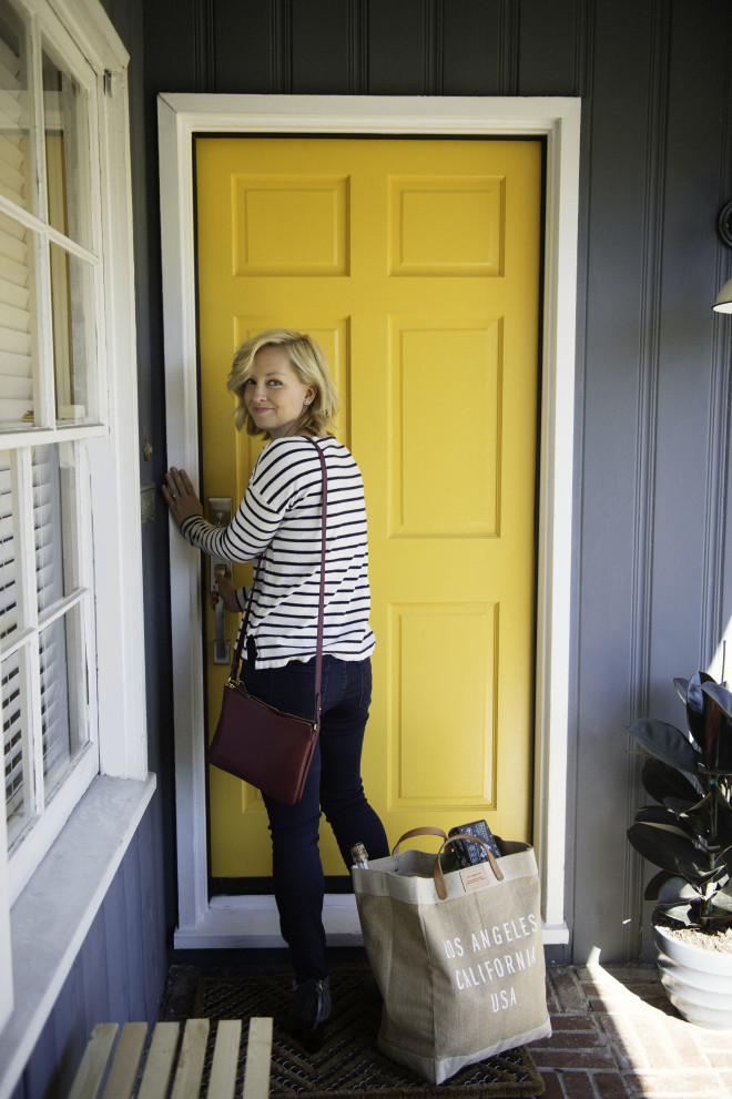Before After Front Porch Makeover The Effortless Chic