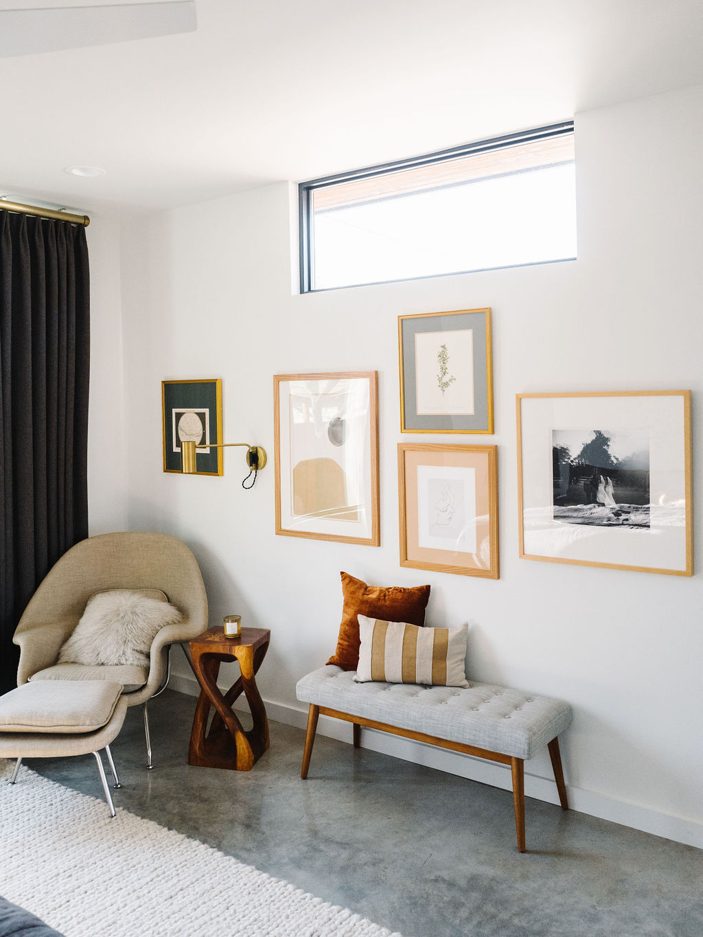 Master Bedroom Update A Meaningful Gallery Wall The Effortless Chic