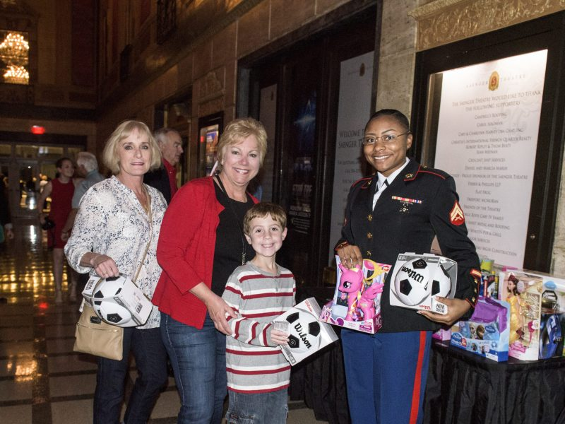 "Marine Corps Band New Orleans, The Saenger Theatre and Chevron Collect Donations for Toys For Tots at ""Santa Meets Sousa"" Concert"
