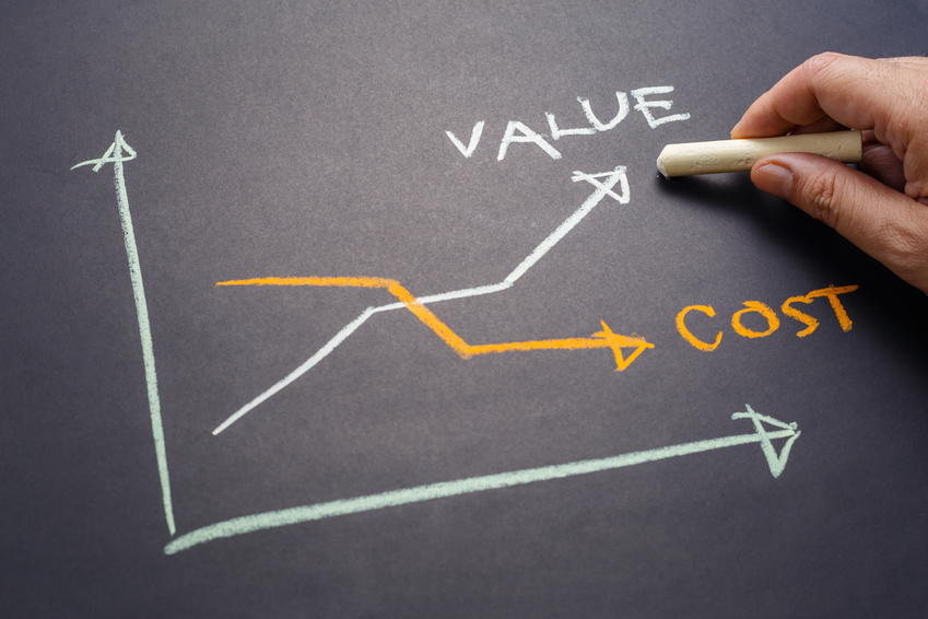 focus on fundraising value not cost