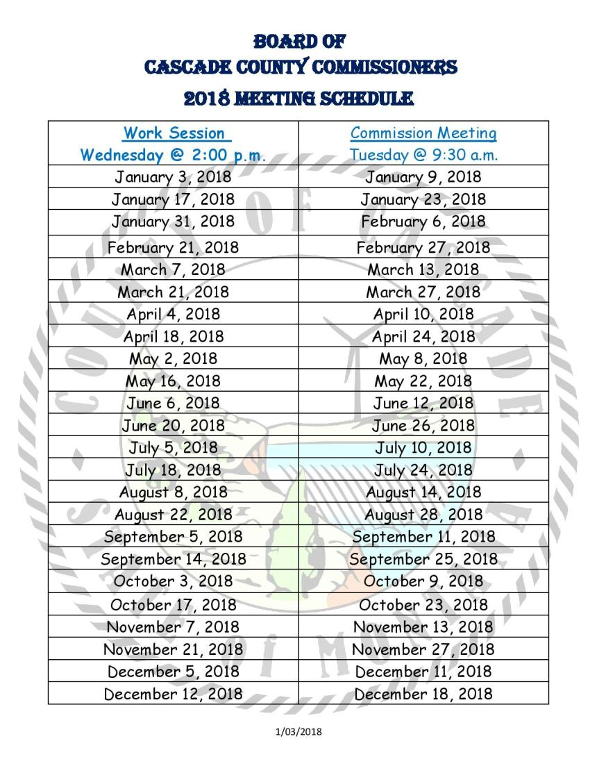 2018 Commish Meeting Schedule-page-001