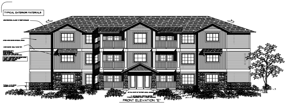 City Approved Zoning Amendment For Apartments Near Hickory