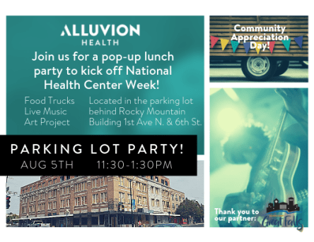 Alluvion popup party