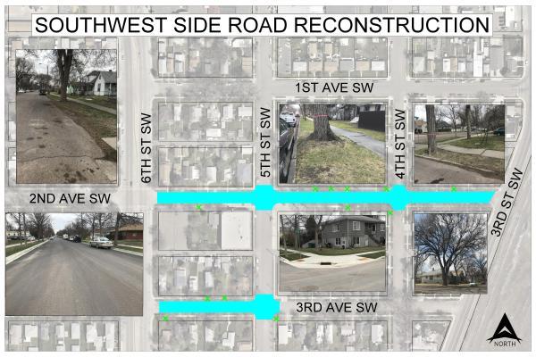 southwest street reconstruction