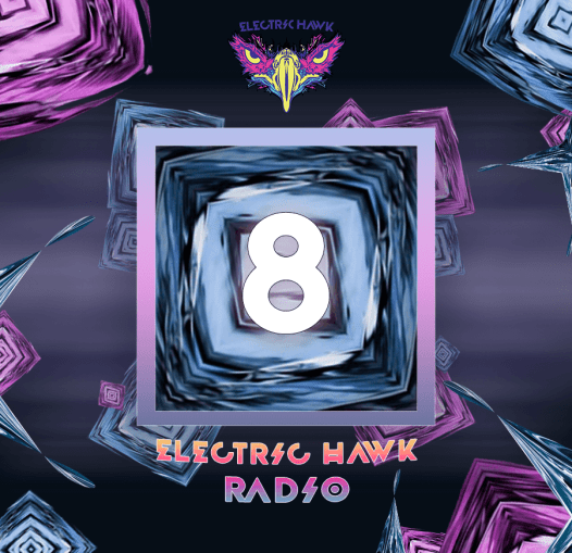 Electric Hawk Radio Episode 8 Cover Art