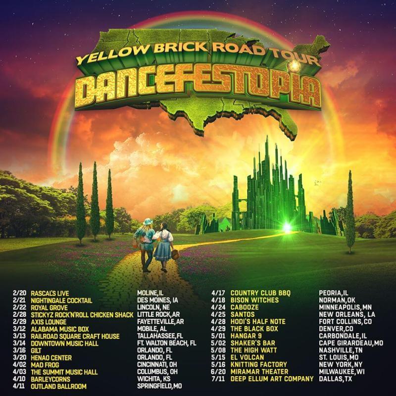 Yellow Brick Road Tour