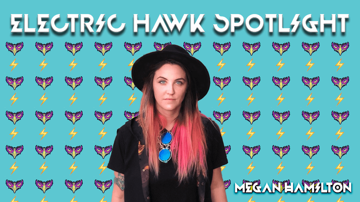 Megan Hamilton Electric Hawk Spotlight