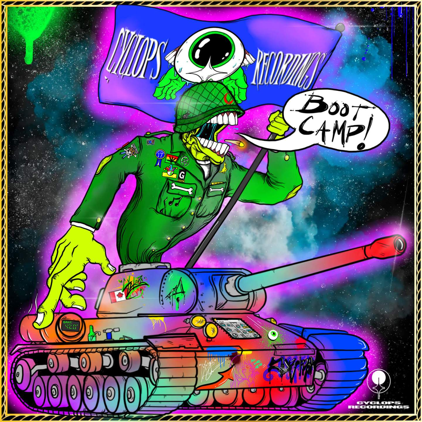 Subtronics - Boot Camp Cover Art