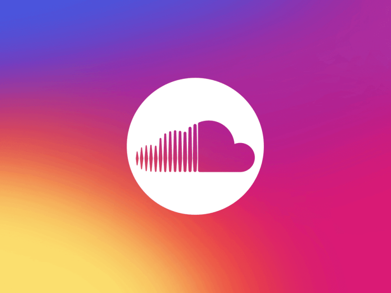 Soundcloud Colorful Logo Electric Hawk