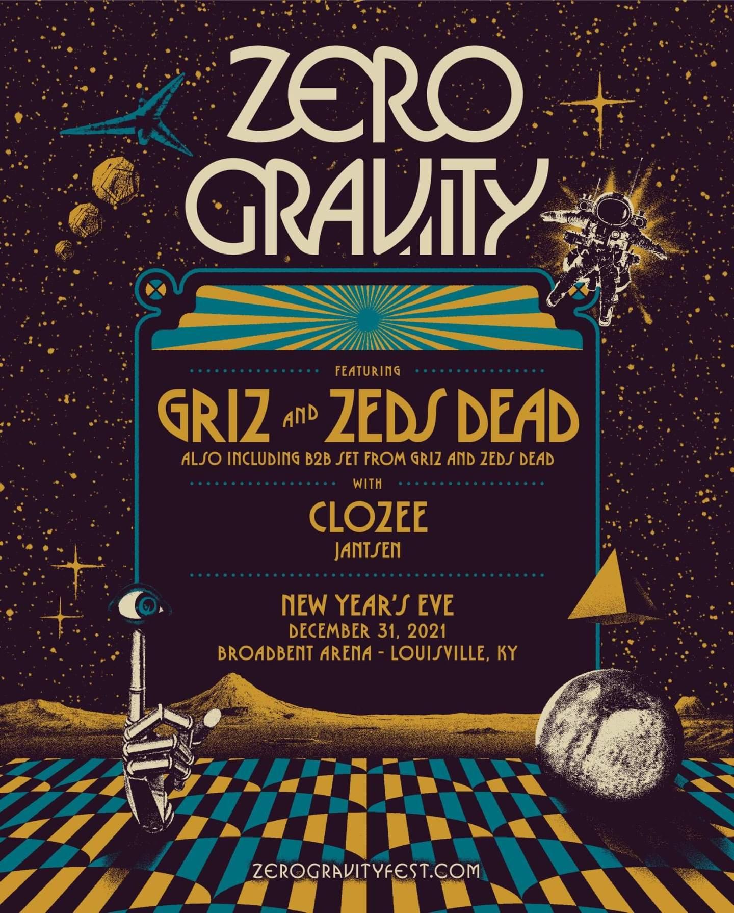 GRiZ Zero Gravity NYE