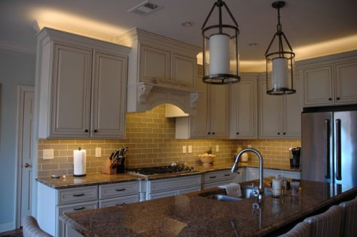 Interior cabinet lighting Modern Kitchen Electrical Lighting Installation Company Electrician Colorado Springs Electrical Lighting Installation Company Under Cabinet Lighting