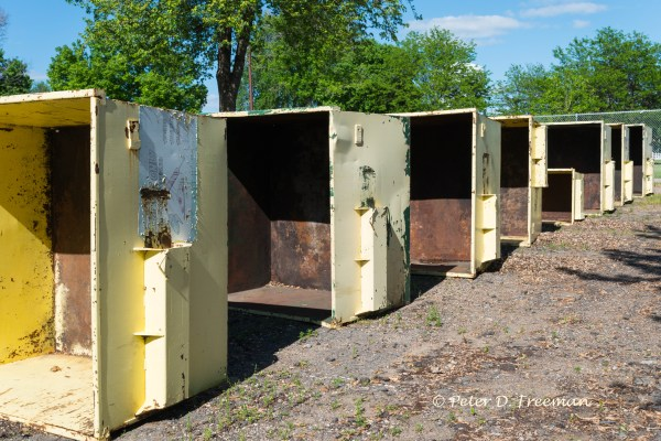 Yellow Dumpsters