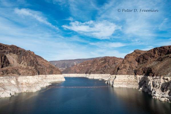 Colorado River at Hoover Dam 2