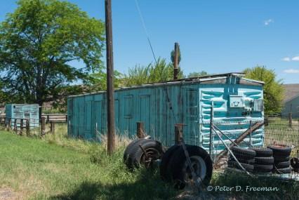 Blue Boxcar