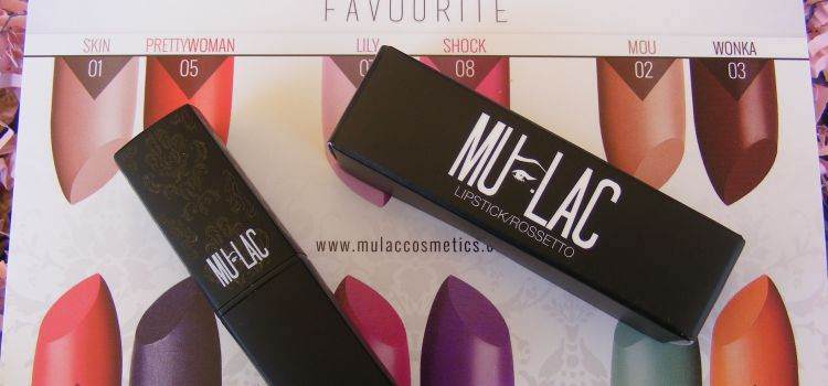 *Preview e swatches*- Wacky Lipsticks by Mulac #06 Marilyn