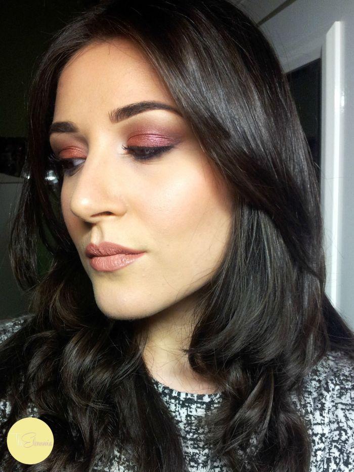 makeup nabla con aphrodite, grenadine e daphne n2