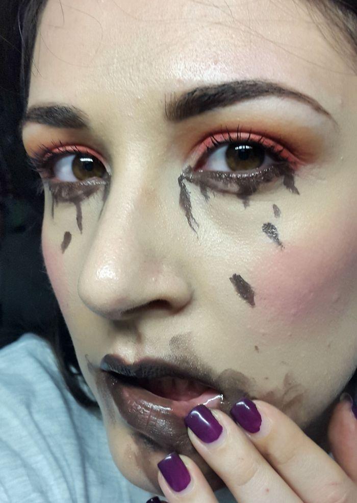 gluttony makeup