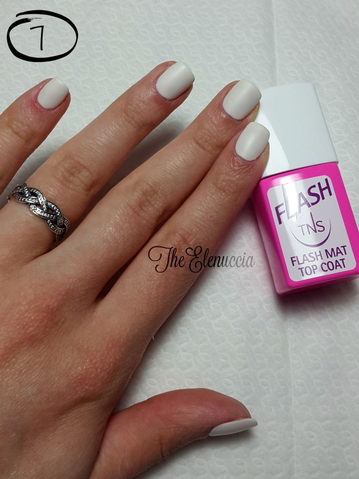 Flash matt top coat TNS Cosmetics