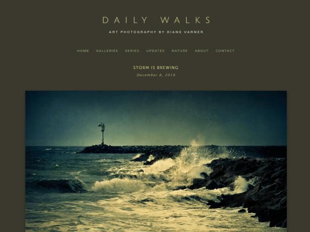 daily walks