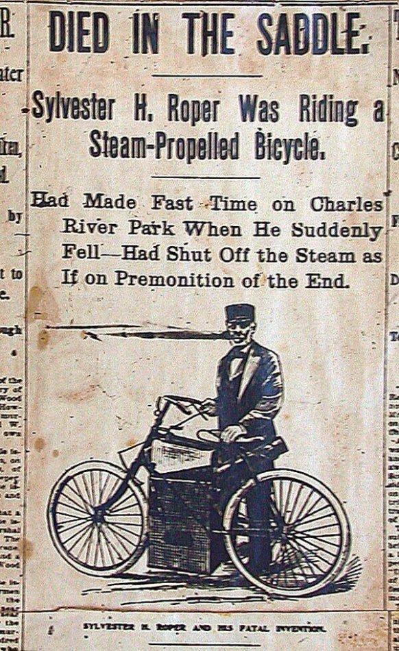 Steam Bike Crash