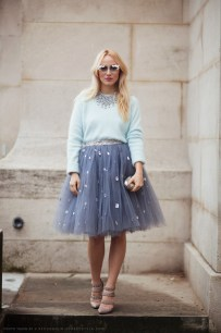 Tulle Skirt Applique
