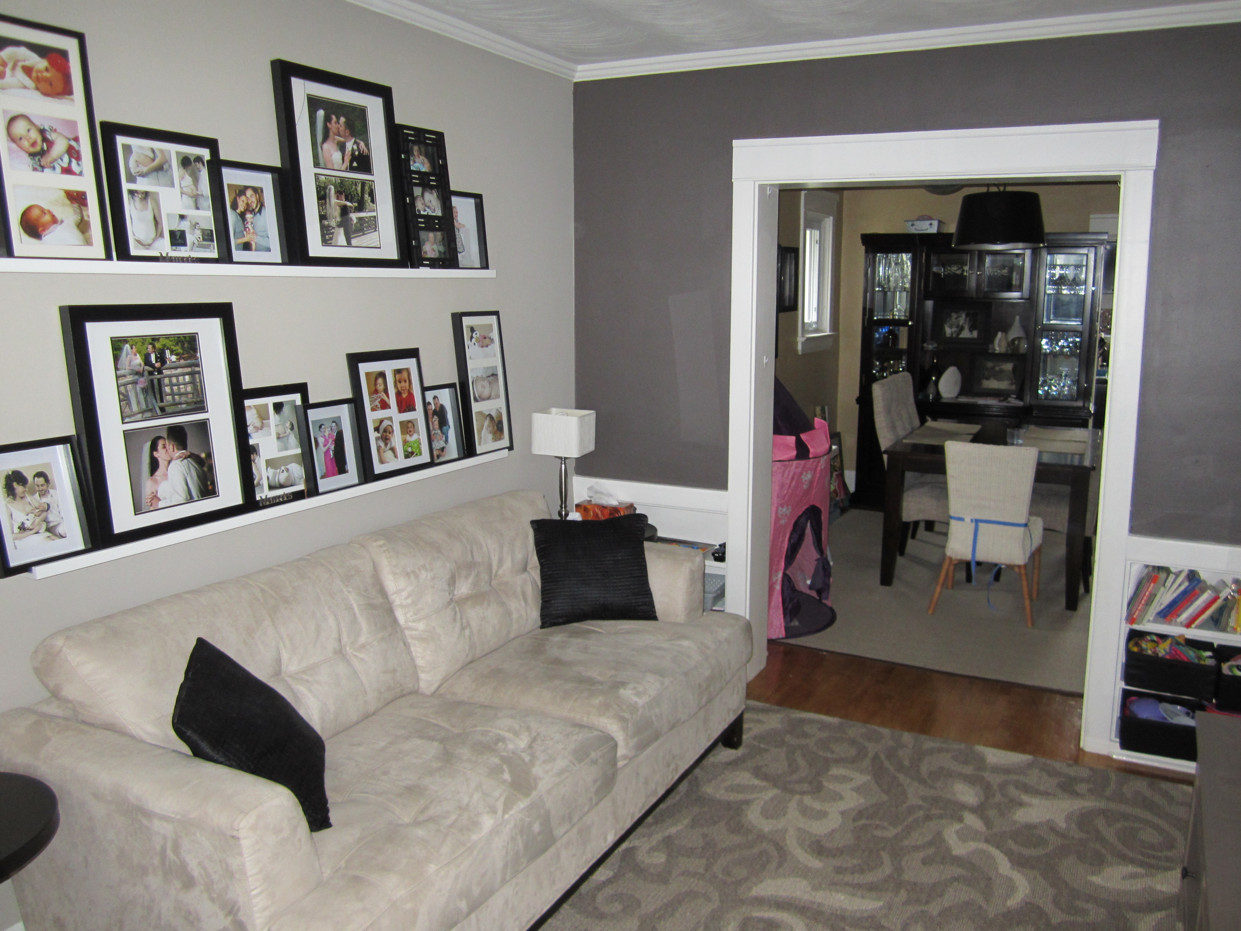 living rooms with dark grey feature walls low price room furniture sets wall the elm life