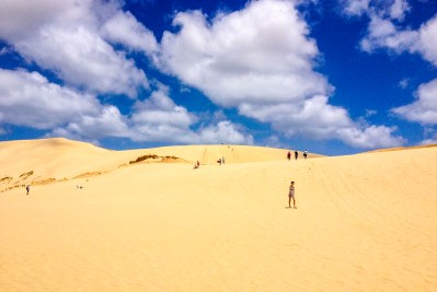 Sand dunes (Te Paki Stream)