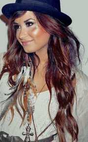 demi lovato hair color revolution