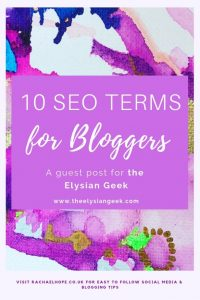 A lot of the time these SEO terms can feel extremely over facing and complicated at first glance.  I know when I initially started researching all things SEO for work, I was VERY confused.  Every course I completed, or article I read about SEO, consistently had these weird terms with no explanation attached to them.  I was constantly having to leave what I was reading or studying to look up meanings elsewhere.