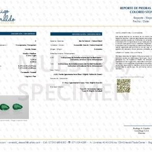 Emerald certificate 2970