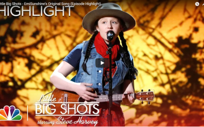 EmiSunshine Performs Again on Little Big Shots with Original Song