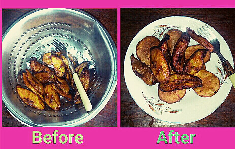 Never Fry Plantain First, It's a Trap.