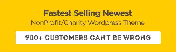Charity: Nonprofit/NGO/Fundraising WordPress Theme - 1
