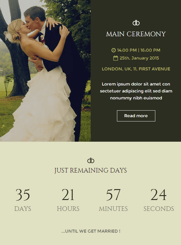 Wedding Responsive Email Template?resizeu003d599%2C811 e invite template e invitation card template e invitation design,E Invitations Free Uk